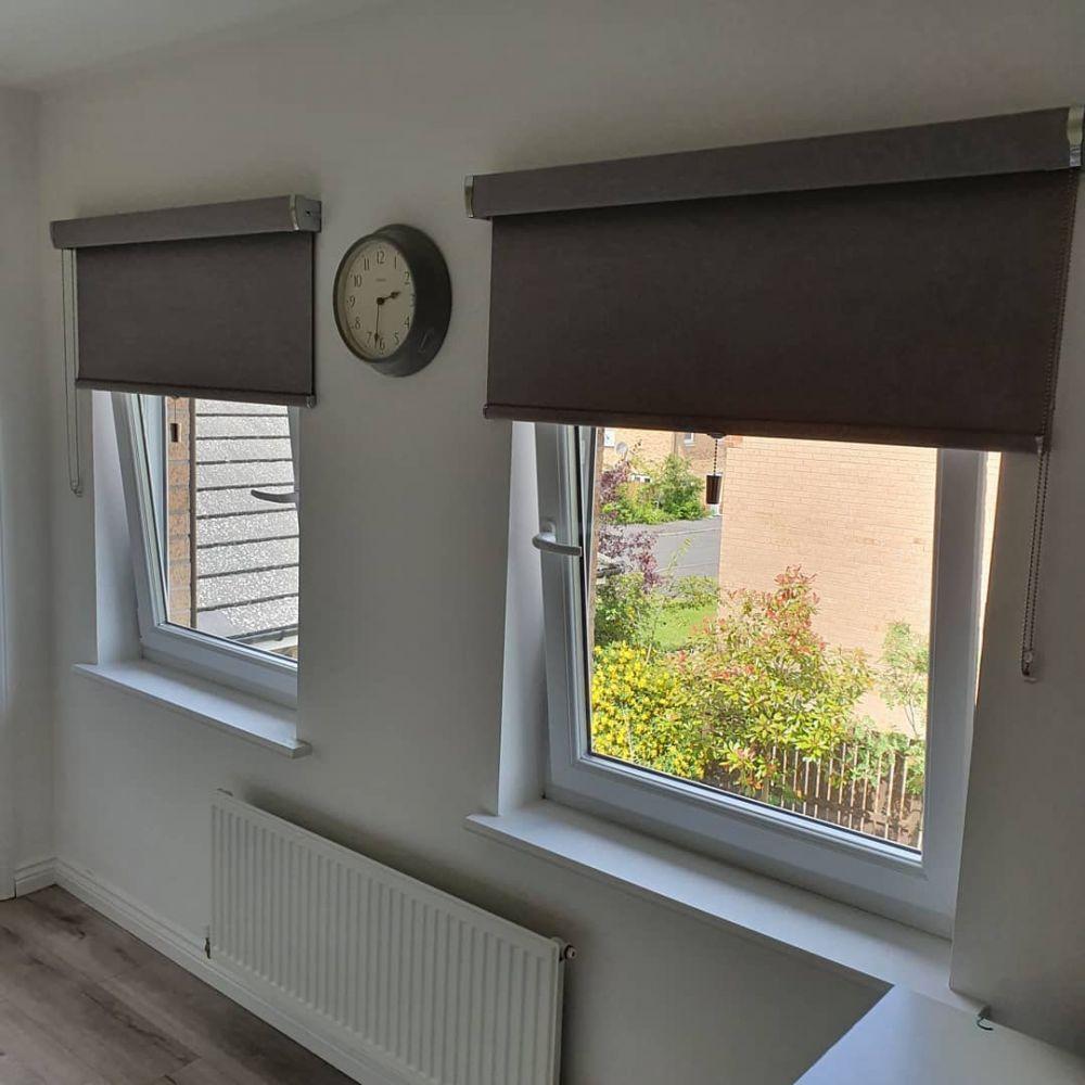 PVC Senses roller blinds Glasgow | Inside